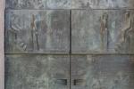 Sagrada Família. Façana de la Passió. Detall de la porta debronze