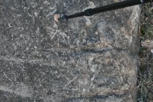 Possibles gravats rupestres dels Cogullons. Rojals, Montblanc, Muntanyes de Prades
