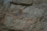 Pintures rupestres de l'Abric de la Baridana I. Rojals, Montblanc, Muntanyes dePrades