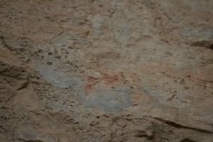 Pintures rupestres de l'Abric de la Baridana I. Rojals, Montblanc, Muntanyes de Prades