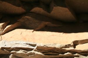 Text amb lletra aràbiga a l'Abric de la Baridana II. Rojals, Montblanc, Muntanyes de Prades