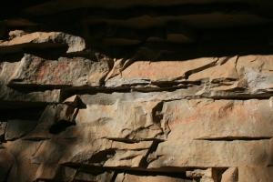 Pintures rupestres de l'Abric de la Baridana II. Rojals, Montblanc, Muntanyes de Prades
