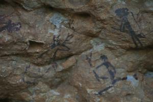 Pintures rupestres de l'Abric I de l'Ermita d'Ulldecona