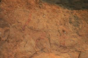 Pintures rupestres del Mas d'en Josep a la Valltorta