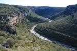 Vista des de l'Abric del Mas d'en Josep a laValltorta