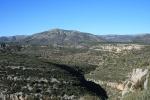Vista del Montegordo des del Mas d'en Josep a laValltorta