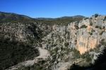 Barranc de la Valltorta des de la Cova delsCavalls