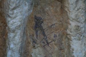 Pintures rupestres de la Cova dels Cavalls. Barranc de la Valltorta
