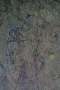 Pintures rupestres de les Coves del Civil o de Ribassals. Barranc de la Valltorta