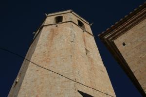 Torre campanar de l'Església Arxiprestal de Sant Mateu