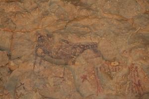 Pintures rupestres de la Cova Remígia, Barranc de Gasulla, Ares del Maestrat