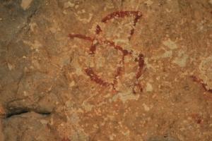 Pintures rupestres de la Cova dels Segarulls (Olèrdola, Alt Penedès)