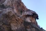 Barret del Capelló a la Cinglera del Capelló,Capellades