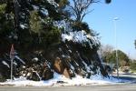 Neu a la bifurcació de l'Arrabassada