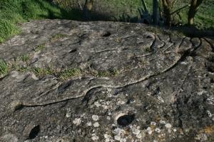 Inscultures de Sant Esteve de Ferriols (Bellprat, Anoia)