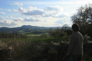 Vista del Montclar des de Sant Esteve de Ferriols