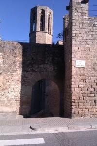 Menhir de l'Àngel, Pedralbes, Barcelona