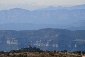 El Tagamanent, els cingles d'en Bertí, la Mola, Montserrtat ... des del Pla de la Calma