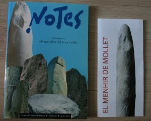 Documentació del Menhir de Mollet o del Pla de les Puneres
