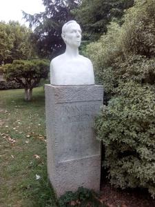 Francesc Carreres i Candi. Bust al Parc de la Ciutadella de Barcelona