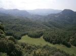 Vistes des de dalt de la Serra delsBufadors
