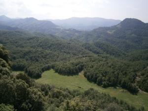 Vistes des de dalt de la Serra dels Bufadors